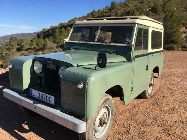 Land Rover Pre Defender Series 2a First Series A Total
