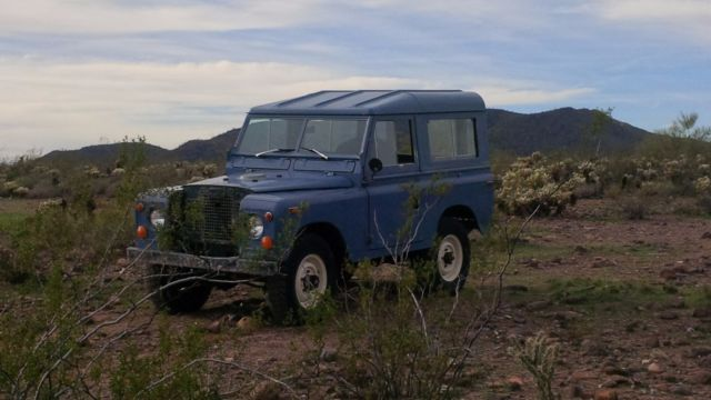 land rover series iia for sale land rover defender 88 1970 for sale in glendale arizona. Black Bedroom Furniture Sets. Home Design Ideas