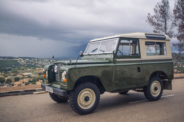 Land Rover Series Iia 88 Santana For Sale Land Rover