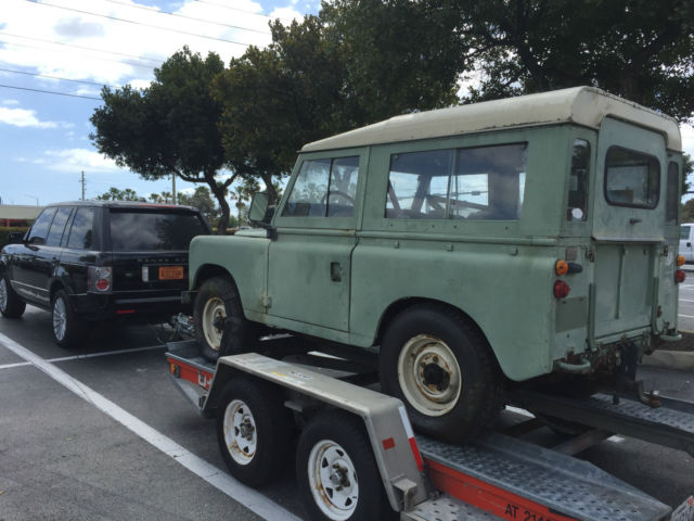 land rover series iii 1973 for sale land rover series iii 1973 for sale in fort lauderdale. Black Bedroom Furniture Sets. Home Design Ideas