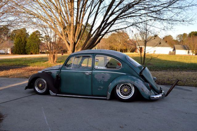 Lowered 1966 Volkswagen Beetle Vw Bug Aircooled Slammed
