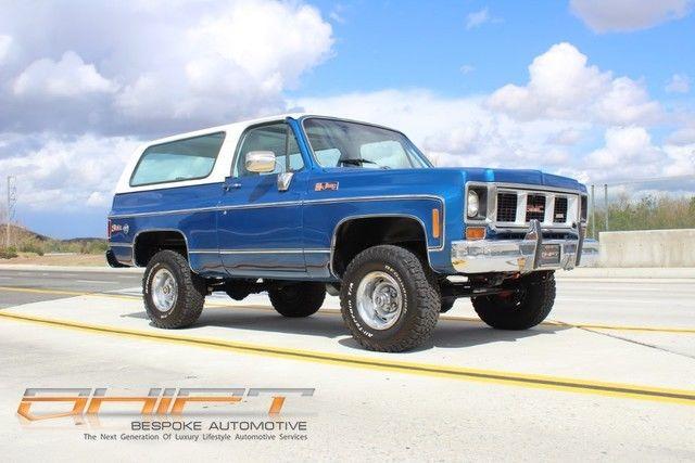 Make Offer Gmc Jimmy Chevrolet Blazer Full Convertible Square