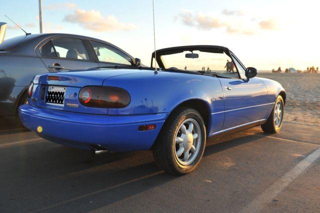 Mariner Blue 18,200 miles for sale - Mazda MX-5 Miata 1990 for sale in Redondo Beach, California ...