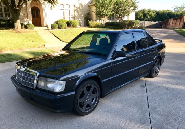 Mercedes 190e 16v very rare automatic with evo ii wheels for Mercedes benz rims for sale
