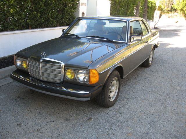 Mercedes 1985 300cd turbo diesel low mileage for sale for Mercedes benz 300cd for sale