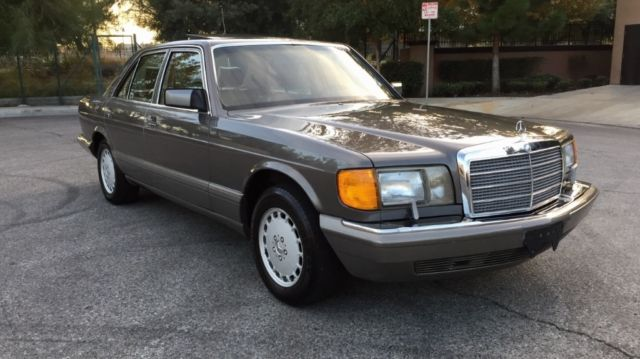 Mercedes 300se low miles w126 sdl sel w107 amg 560 500 420 for Mercedes benz w126 for sale