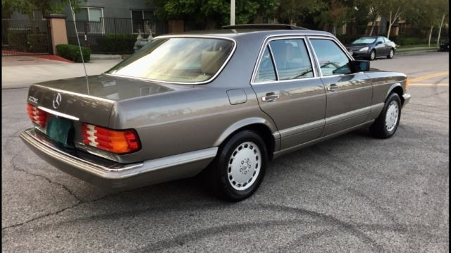 mercedes 300se low miles w126 sdl sel w107 amg 560 500 420. Black Bedroom Furniture Sets. Home Design Ideas