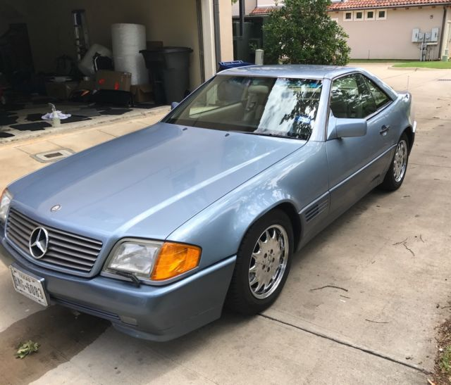 Mercedes 500sl 1991 66k original miles clean car fax cold for Keyes mercedes benz