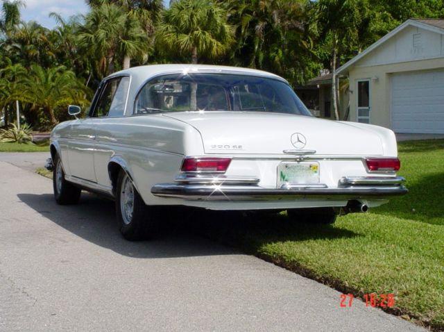 Mercedes benz 220 se 1964 opera coupe for sale for Mercedes benz naples florida