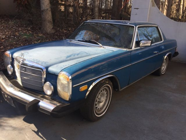 Mercedes benz 280c coupe 2 door sport 1974 6 cylinder m110 for Mercedes benz 2 door coupe for sale