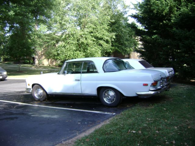 Mercedes benz 280se 4 5 2 door coupe for sale mercedes for Mercedes benz 2 door coupe for sale