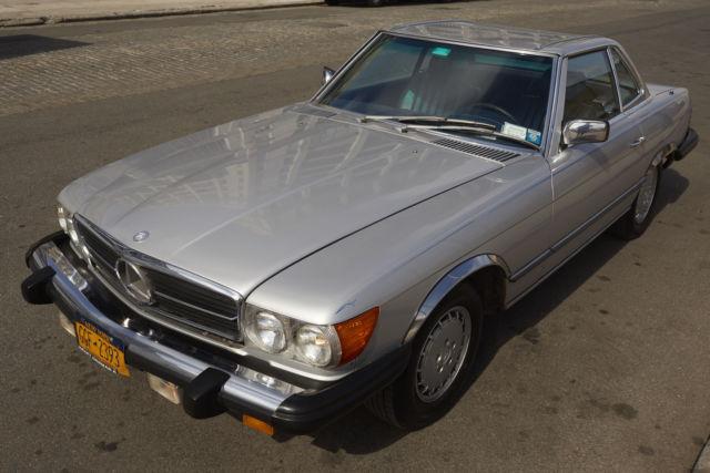 Mercedes benz 380sl 1984 for sale mercedes benz sl class for Mercedes benz mt laurel