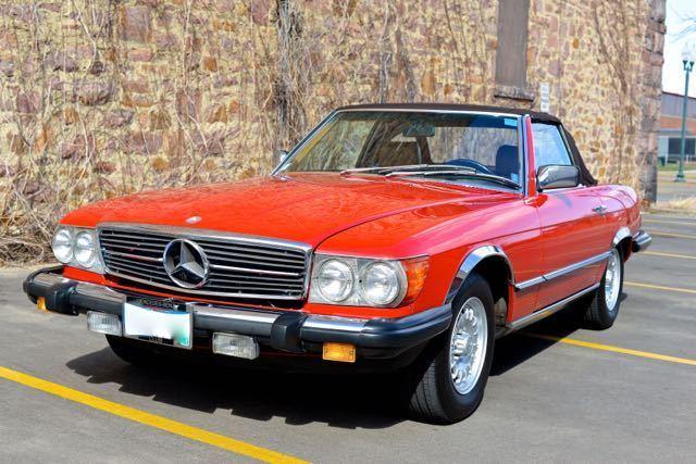 Mercedes benz 380sl sl class for sale mercedes benz sl for Mercedes benz sioux falls