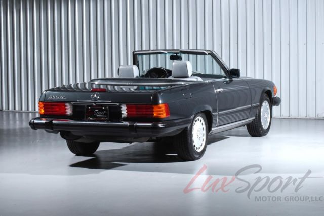 Mercedes benz 560sl roadster black with 70 000 miles for for Black mercedes benz for sale