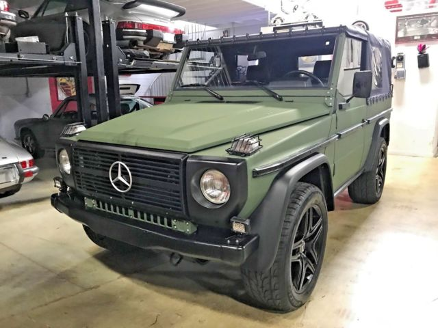 mercedes benz gd250 wagon gwagon diesel 4x4 convertible
