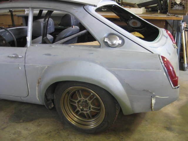 MGB GT SEBRING PROJECT CAR for sale - MG MGB 1972 for sale