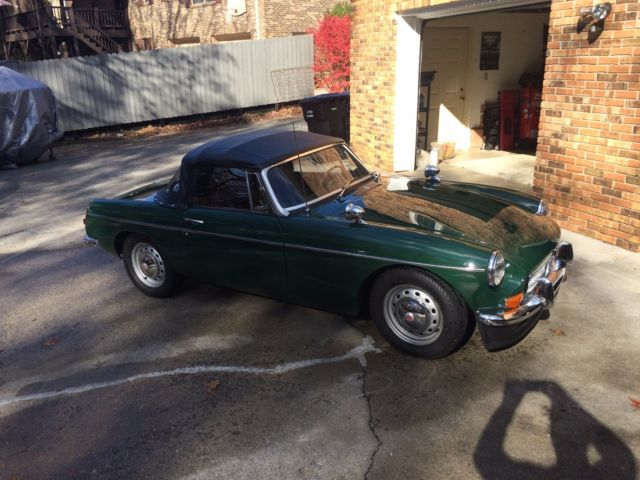 MGB Roadster 1967, Most collectable year with overdrive for sale