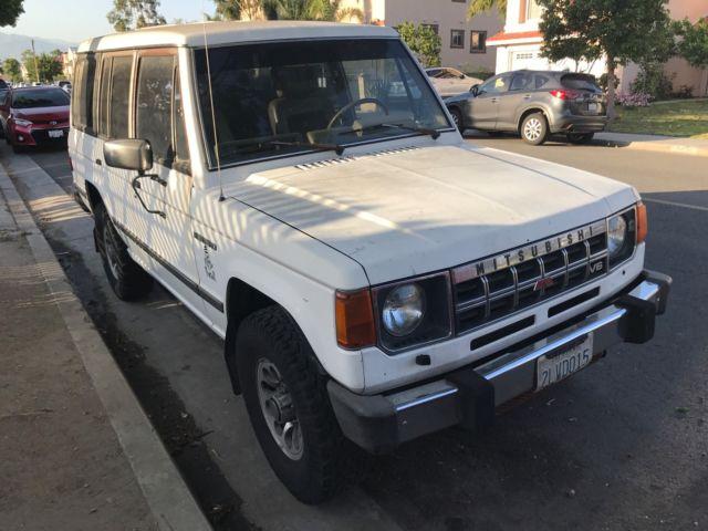 Mitsubishi Montero 1989 For Sale Mitsubishi Montero 1989