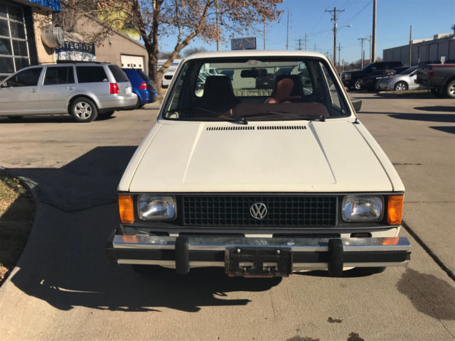 mk1 volkswagen vw diesel rabbit pickup 1 6 4 speed one owner 48k clean original for sale. Black Bedroom Furniture Sets. Home Design Ideas