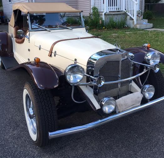 Interior Car Cleaning Okc: Model 1929 Mercedes Gazelle Kit Car For Sale