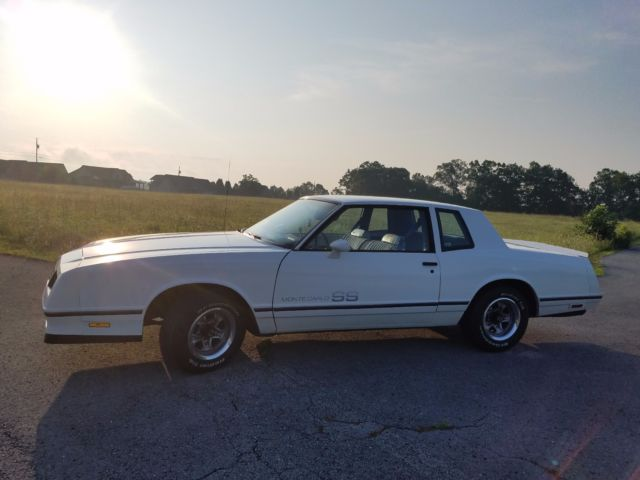 Monte Carlo Ss 1983 51k Original Miles Garage Kept