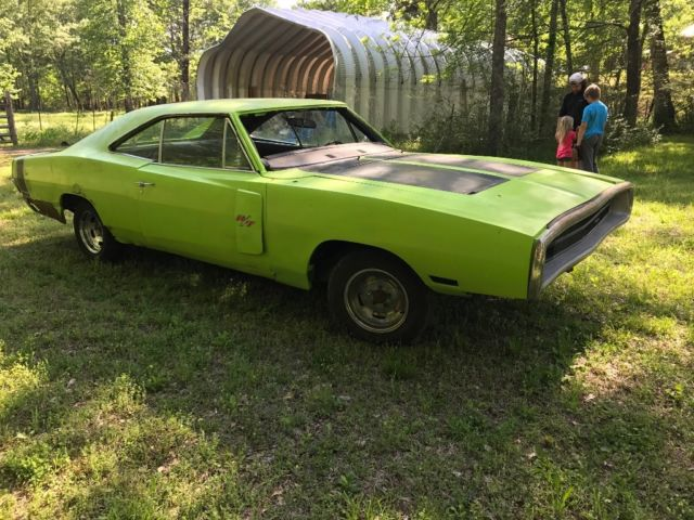 mopar 1970 dodge charger rt 440 sublime green 1968 1969