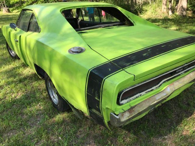 Mopar 1970 Dodge Charger R T 440 Sublime Green 1968 1969