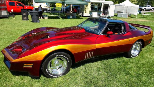 museum 1980 custom corvette stingray bill mitchell for sale chevrolet corvette 1980 for sale. Black Bedroom Furniture Sets. Home Design Ideas