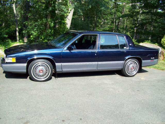 near new 1990 cadillac sedan deville 4 door 4 5l 20 680 00 miles for sale cadillac deville 1990 for sale in gloucester massachusetts united states davids classic cars