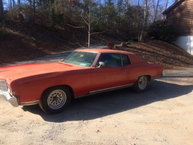 New 402 motor 1970 monte carlo for sale chevrolet monte for Miles motors asheville nc