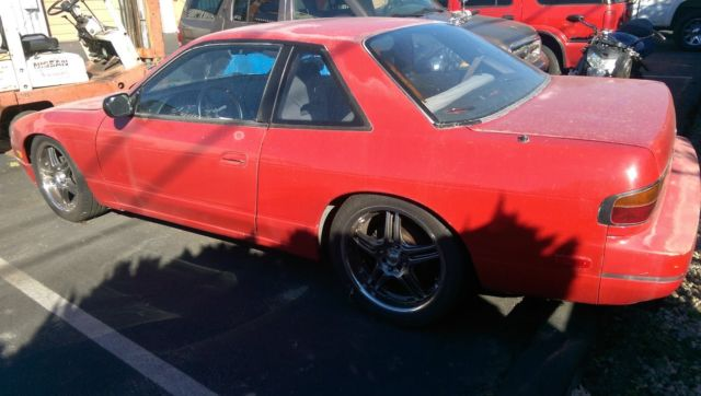 nissan 240sx bored out rb20 to rb25 full coilovers built solid and reliable for sale. Black Bedroom Furniture Sets. Home Design Ideas