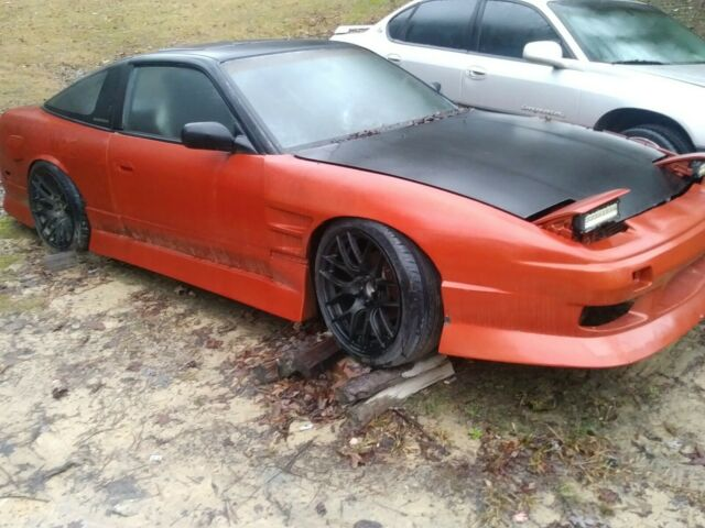 Nissan 240sx S13 Shell (NO ENGINE OR TRANS) NEW TIRES AND WHEELS