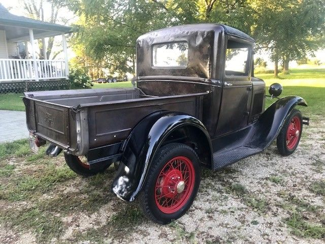 No Reserve 1930 Ford Model A Pick Up Truck Survivor