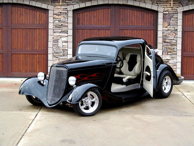 No reserve 1934 ford 3 window coupe custom street machine for 1934 ford 3 window coupe custom