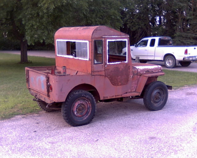 No Reserve 1946 Willys Jeep Cj2a 4x4 For Sale Willys