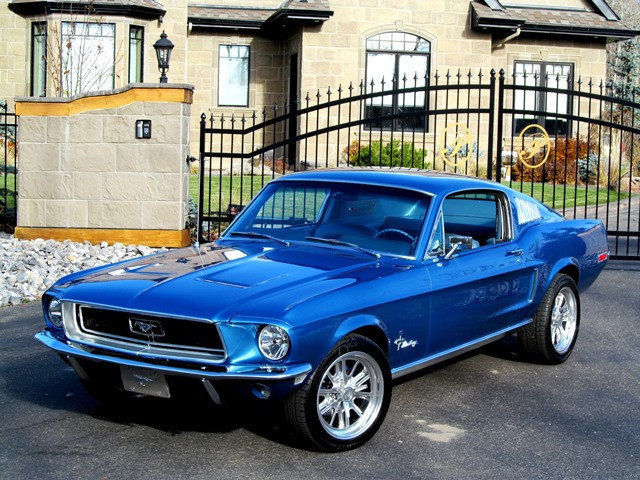 NO RESERVE 1968 FORD MUSTANG FASTBACK HIGH PERFORMANCE