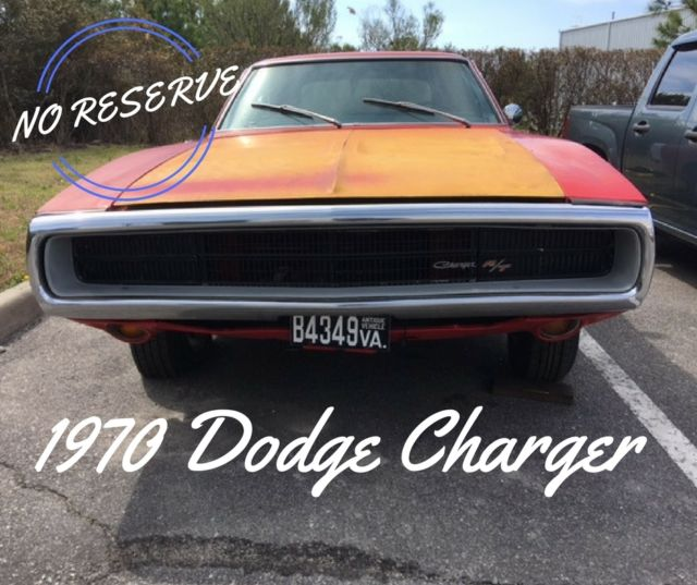 Dodge Charger For Sale: 1970 Dodge Charger Rolling Chassis W 440 Big