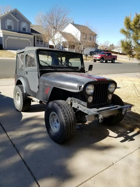 304 Best Images About Tarot Art On Pinterest: NO RESERVE !! 1974 Jeep CJ5 304 V8 New Soft Top Good