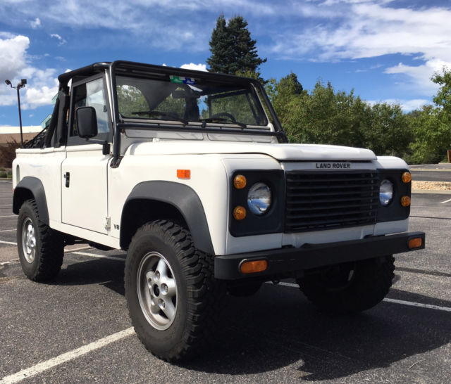 NO RESERVE 1994 Land Rover NAS Defender 90 13,000 Original