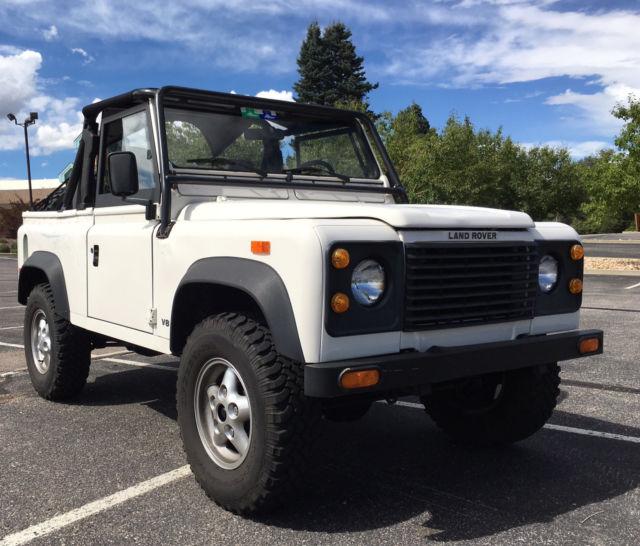 Land Rovers For Sale: NO RESERVE 1994 Land Rover NAS Defender 90 13,000 Original