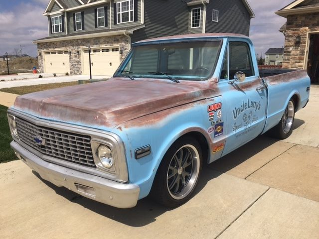 No Reserve 71 Chevy C10 Restomod Built 350 Patina Done
