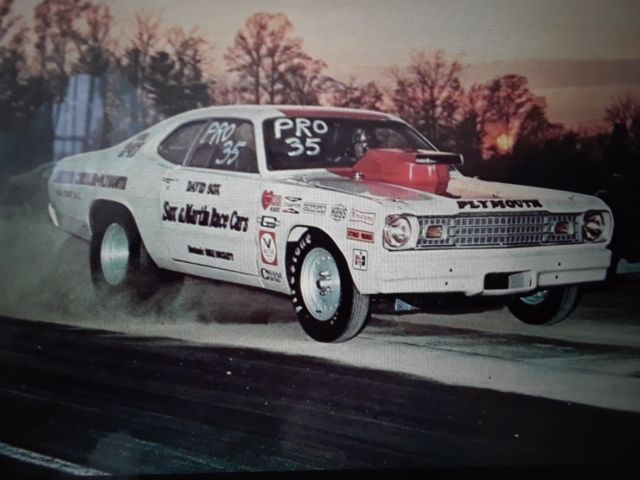 old school pro stock plymouth duster race car sox martin herb mcandles car for sale. Black Bedroom Furniture Sets. Home Design Ideas