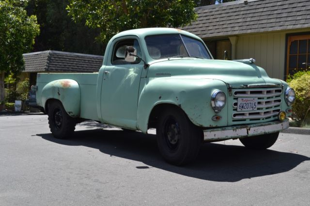 Studebaker Truck Fenders : Old truck studebaker pickup with rare speed parts no