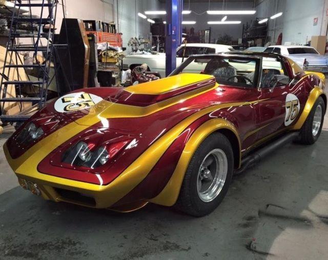 one of a kind count 39 s kustoms corvette for sale chevrolet corvette 1975 for sale in torrance. Black Bedroom Furniture Sets. Home Design Ideas