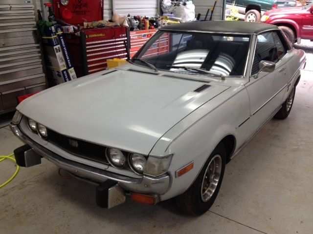 one owner 1974 toyota celica gt 5 speed for sale toyota celica 1974 for sale in marietta. Black Bedroom Furniture Sets. Home Design Ideas