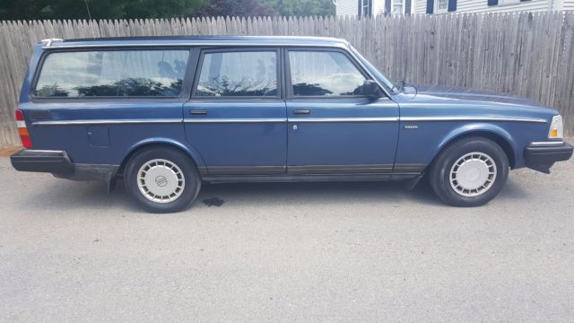 one owner 1991 volvo 240 wagon for sale volvo 240 1991 for sale in asbury new jersey united. Black Bedroom Furniture Sets. Home Design Ideas