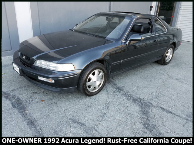 ONE OWNER 1992 ACURA LEGEND COUPE RUST FREE ALL ORIGINAL CALIFORNIA CLASSIC