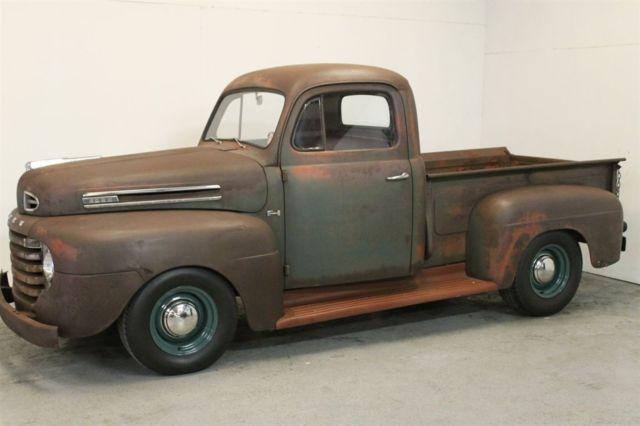 original 1950 f1 survivor flathead daily driver rat rod hot rod rust for sale ford other. Black Bedroom Furniture Sets. Home Design Ideas