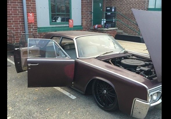 Original Patina 1961 Suicide Door Lincoln Continental BAGGED RAT ROD -SWITCHES & Original Patina 1961 Suicide Door Lincoln Continental BAGGED RAT ... Pezcame.Com