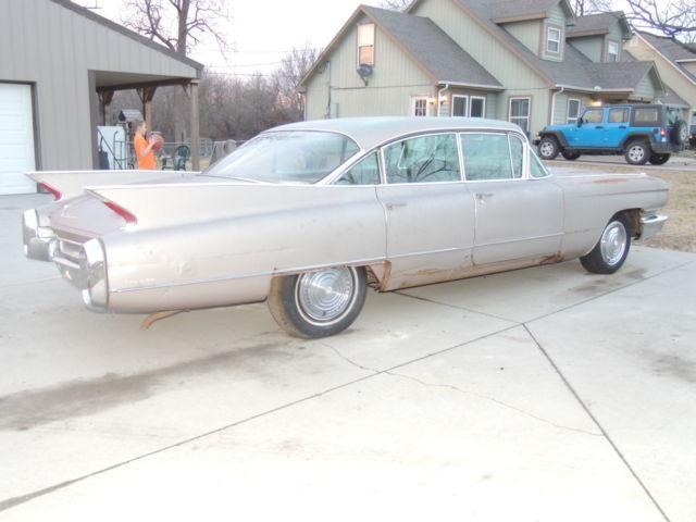 Pink Cadillac Sedan Deville Door Hardtop Project Clear Title Rat Caddy Nr